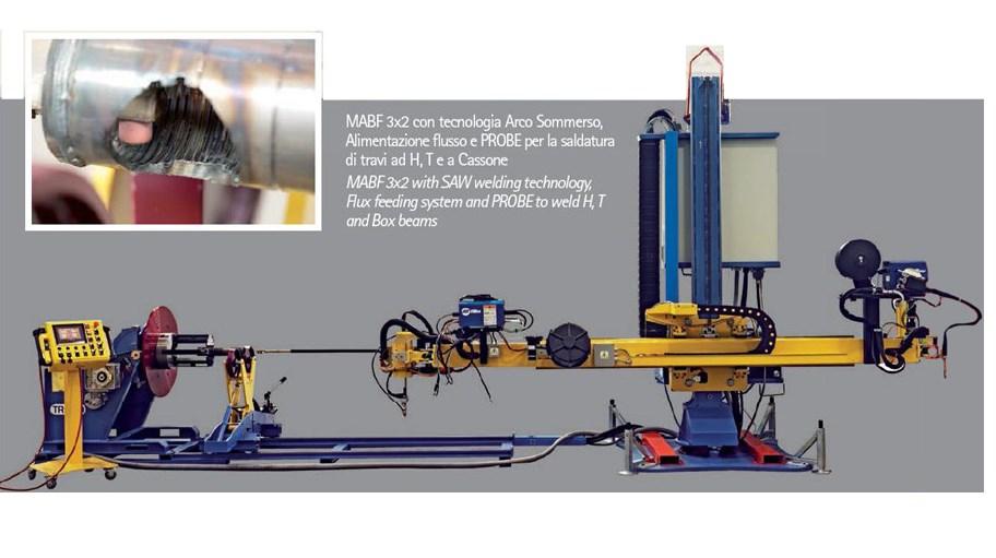Impianto automatizzato per la saldatura